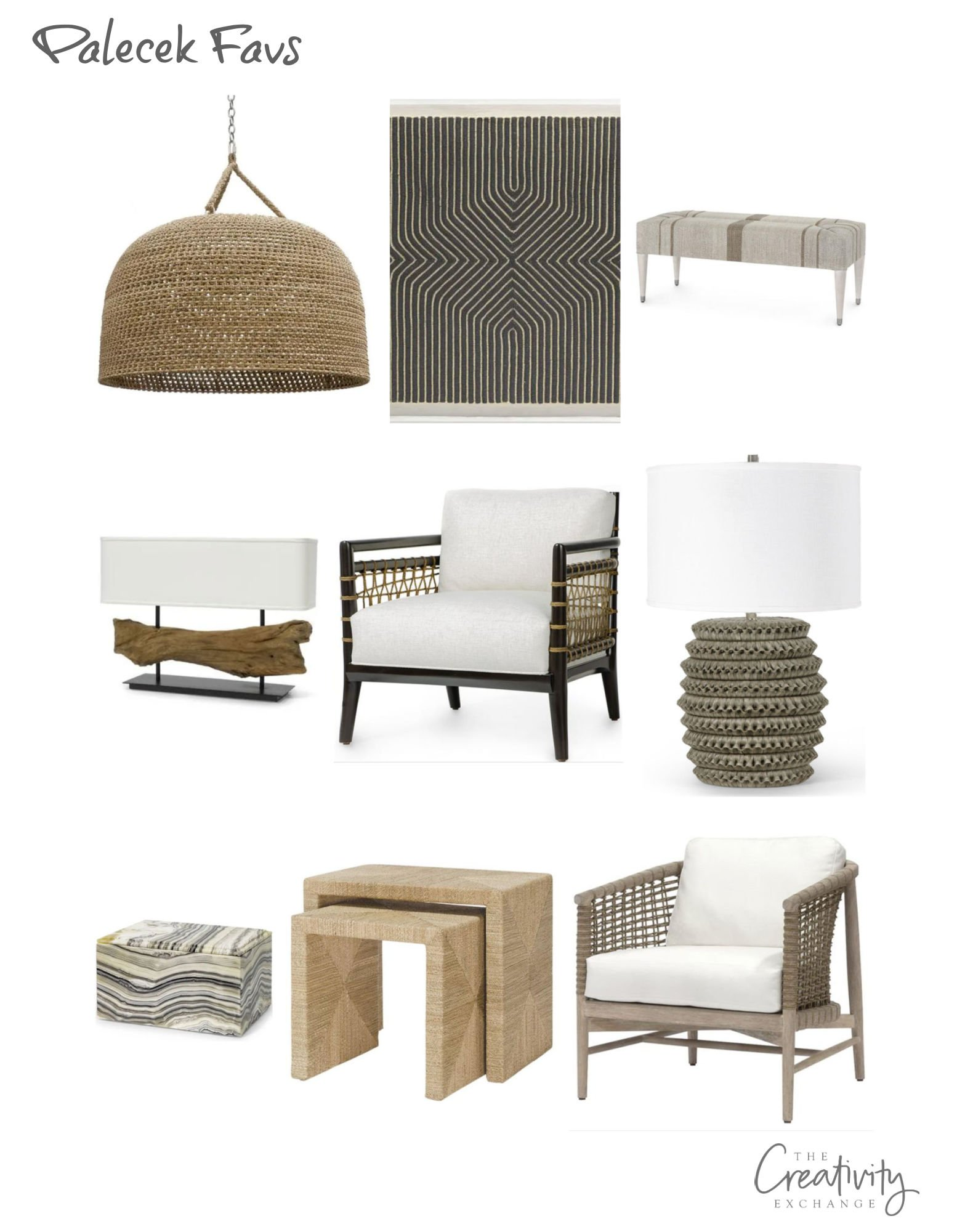 California Casual Modern Furniture and Decor
