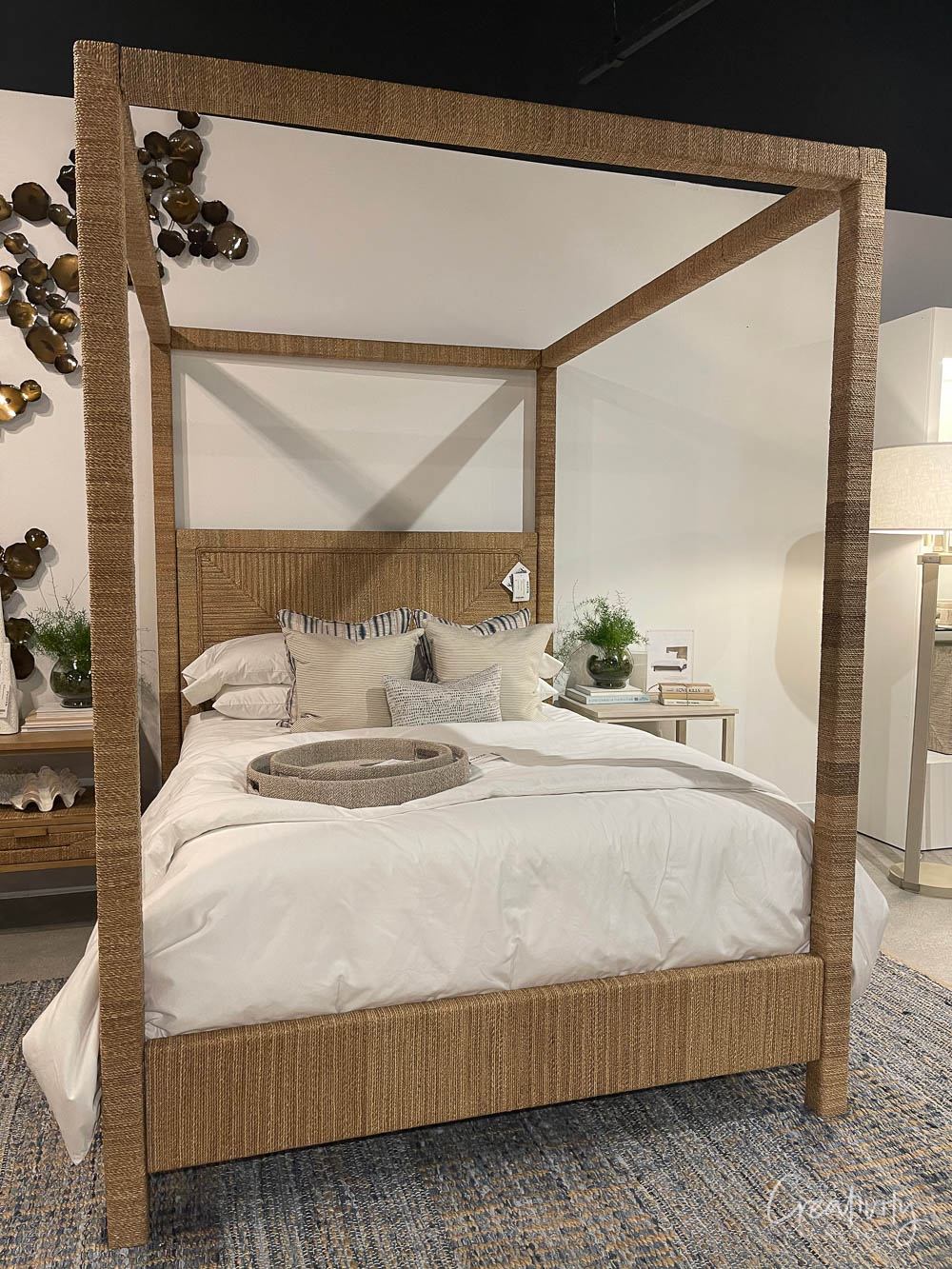 California Casual Modern Poster Bed
