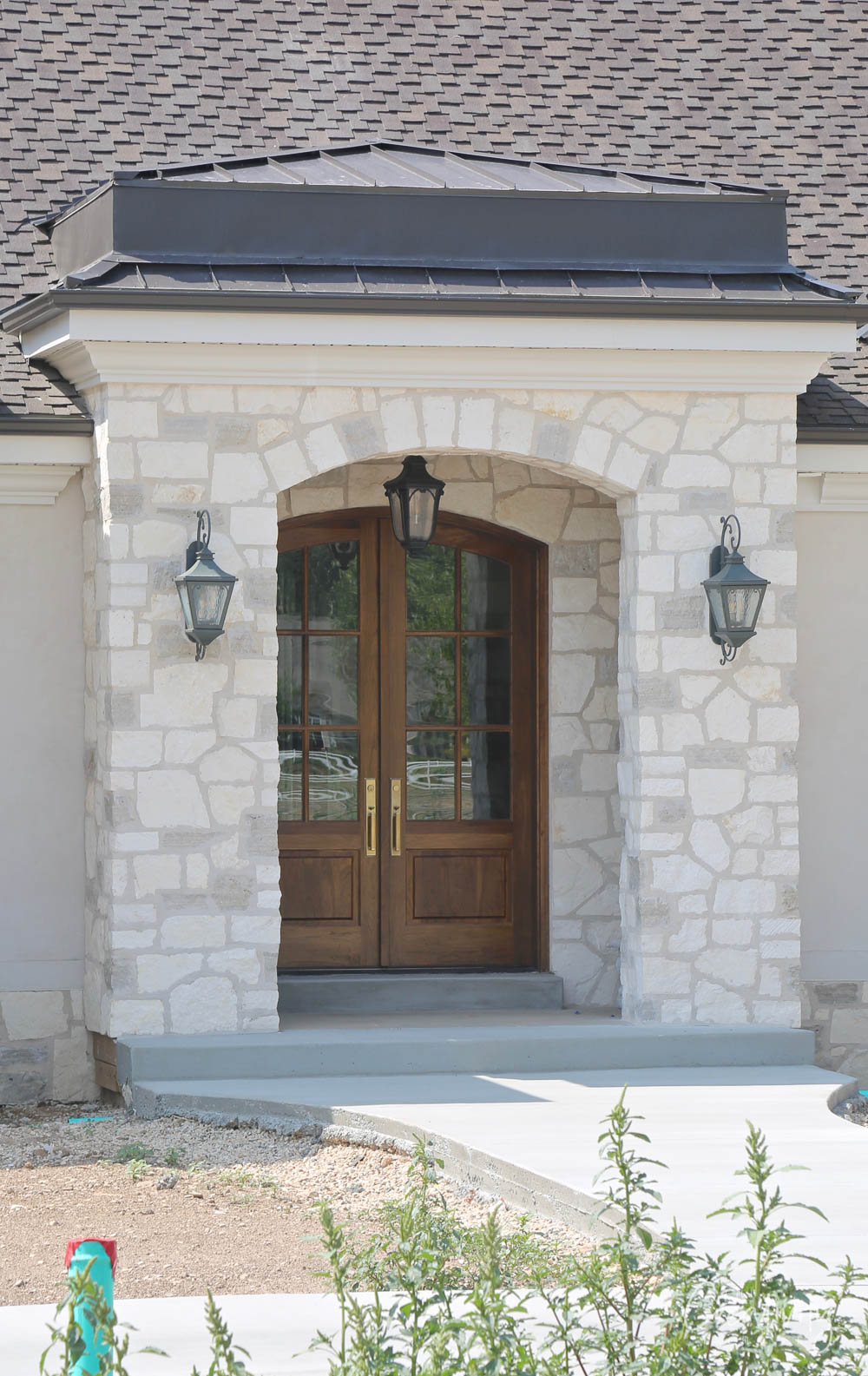 Double French Glass Front Doors