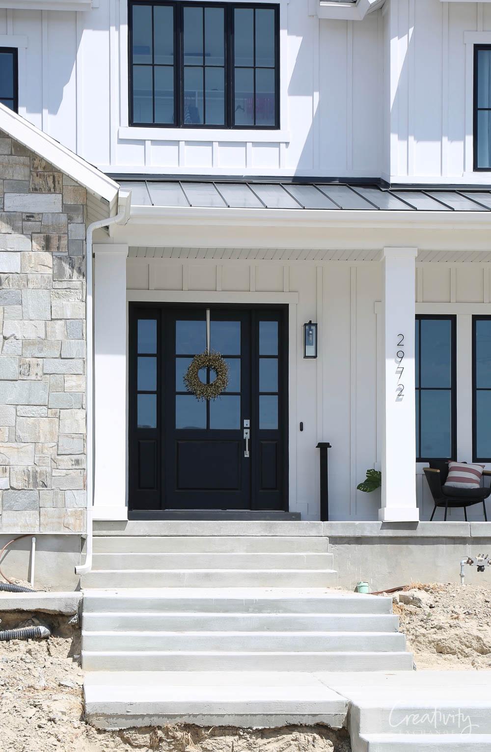 Modern Farmhouse Front Door