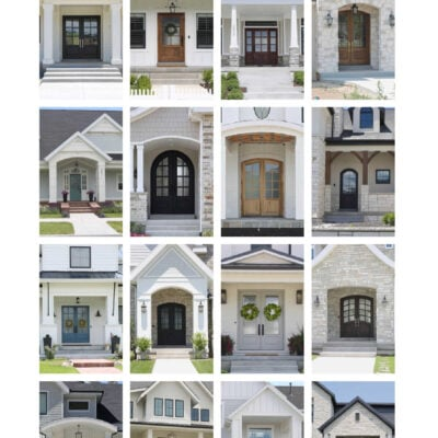 Front Door Styles That Will Instantly Update Your Home