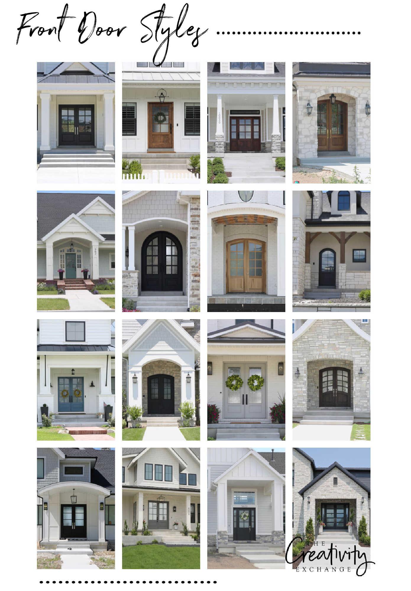 Front Door Design Styles