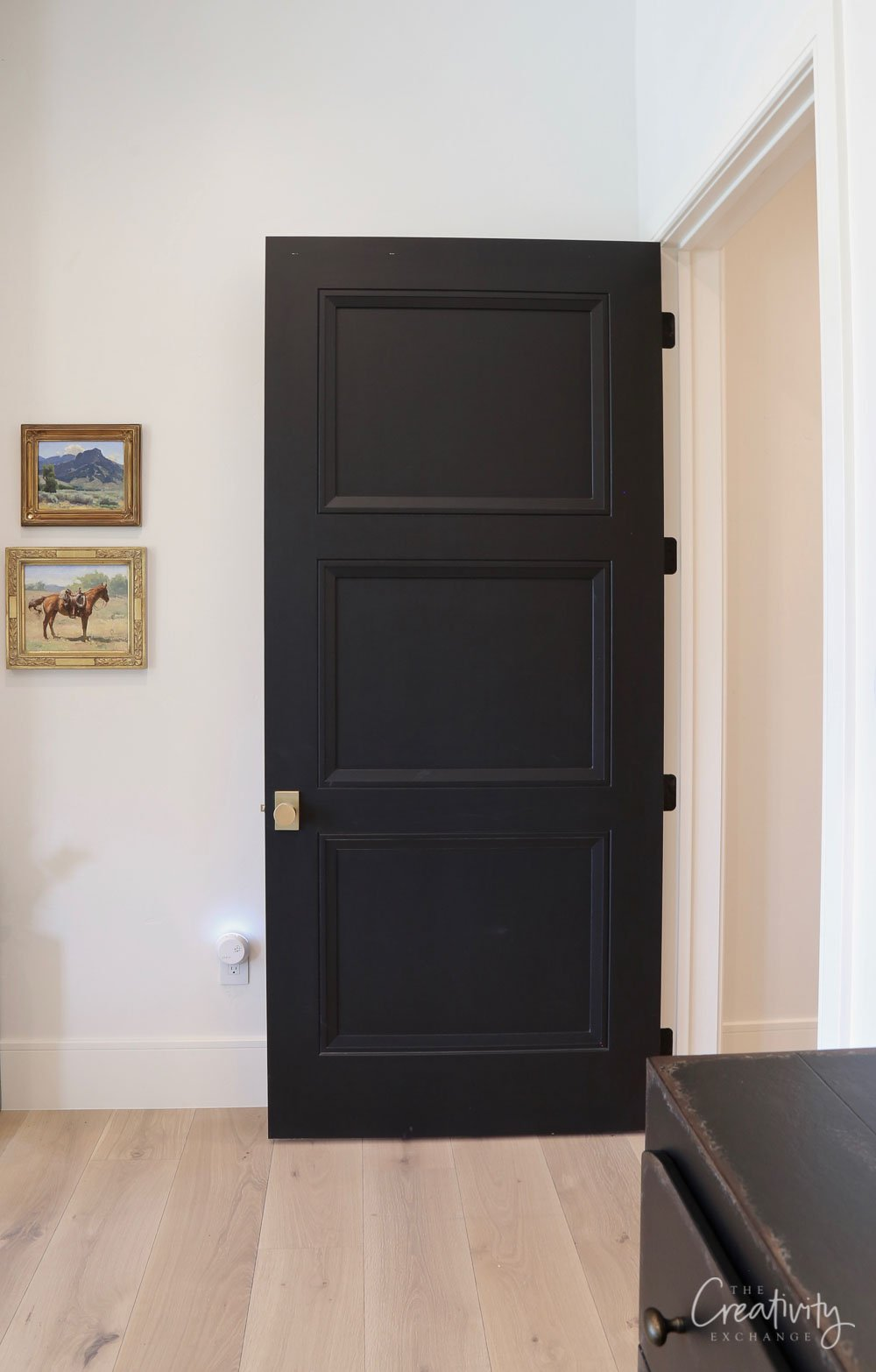 Interior Doors Sherwin Williams Tricorn Black