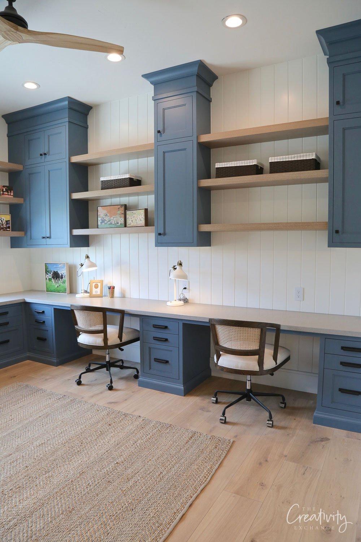 Cabinetry Benjamin Moore Phillipsburg Blue
