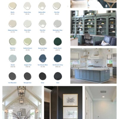 Popular Paint Colors with Designers and Builders Right Now