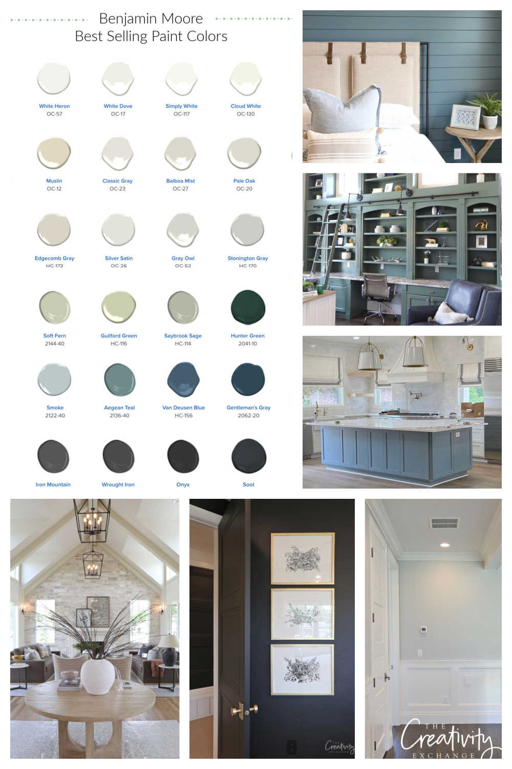 Most Popular Paint Colors Right Now