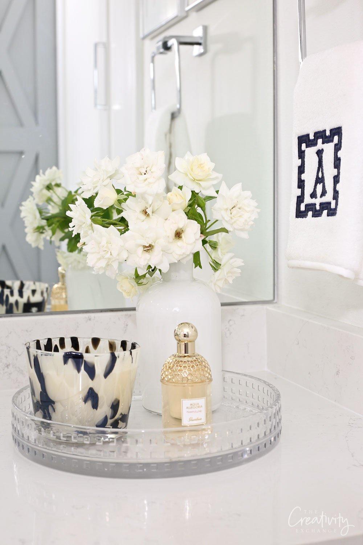 Bathroom vanity styling